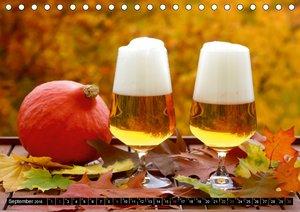 Biergenuss zu jeder Jahreszeit (Tischkalender 2018 DIN A5 quer)