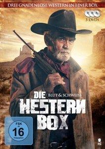 Die Western-Box: Blut & Schweiß, 1 DVD