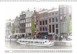 AMSTERDAM Erinnerungen (Wandkalender 2019 DIN A3 quer)