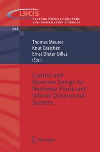 Control and Observer Design for Nonlinear Finite and Infinite Di