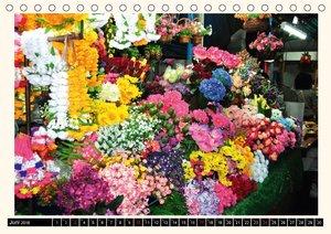 Märkte Thailands (Tischkalender 2018 DIN A5 quer)
