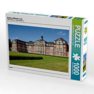 Schloss Münster (LU) 1000 Teile Puzzle quer