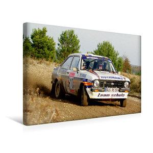 Premium Textil-Leinwand 45 cm x 30 cm quer Ford Escort MK2 BDG
