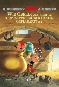 Asterix: Wie Obelix als kleines Kind in den Zaubertrank geplumps