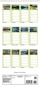 Bergseen in den Dolomiten - Familienplaner hoch (Wandkalender 20