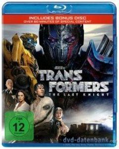 Transformers: The Last Knight-Blu-ray