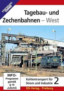 Tagebau- und Zechenbahnen - West, 1 DVD-Video
