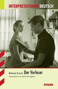 Der Vorleser. Interpretationshilfe Deutsch