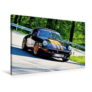Premium Textil-Leinwand 90 cm x 60 cm quer Porsche 911 - 1978