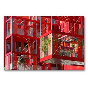 Premium Textil-Leinwand 90 cm x 60 cm quer Version Rubis im Parc