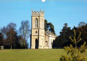 Ausflugsziel Croome Park, Woucestershire, UK (Posterbuch DIN A3