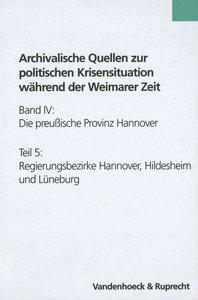 Die preussische Provinz Hannover