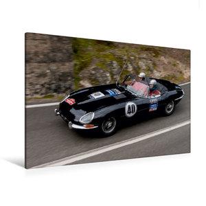 Premium Textil-Leinwand 120 cm x 80 cm quer Jaguar E-Type