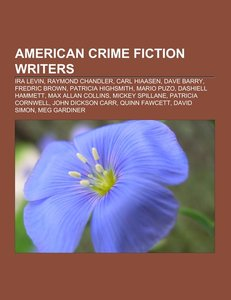 American crime fiction writers