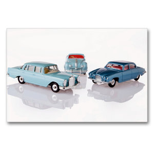 Premium Textil-Leinwand 90 cm x 60 cm quer Dinky Toys Spielzeuga