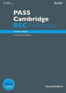 PASS Cambridge BEC, Preliminary. 2nd Ed. Teacher's Book m. 2 Aud