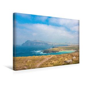 Premium Textil-Leinwand 45 cm x 30 cm quer Küste in der Nähe von