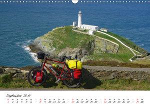 Abenteuer Radreisen (Wandkalender 2019 DIN A3 quer)