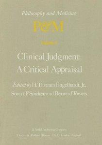 Clinical Judgment: A Critical Appraisal