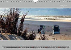 Strandblicke Borkum und Norderney