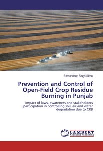 Prevention and Control of Open-Field Crop Residue Burning in Pun