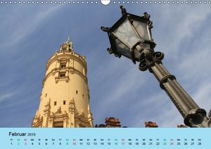 Schlossimpressionen Schwerin 2019 (Wandkalender 2019 DIN A3 quer