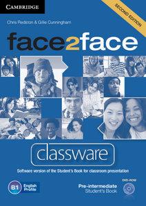 face2face. Classware DVD-ROM. Pre-Intermediate 2nd edition