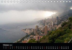 Faszination Monaco (Tischkalender 2019 DIN A5 quer)