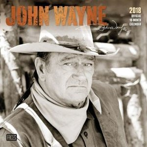 John Wayne 2018 - 18-Monatskalender