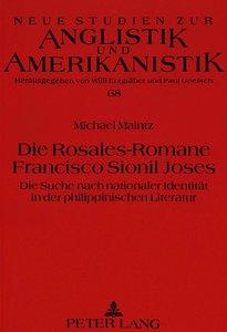 Die Rosales-Romane Francisco Sionil Joses