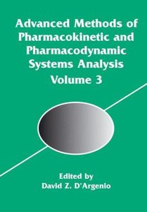 Advanced Methods of Pharmacokinetic and Pharmacodynamic Systems