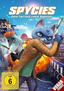 Spycies Zwei tierisch coole Agenten, 1 DVD