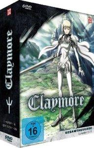 Claymore, 6 DVDs (Slimpackbox)