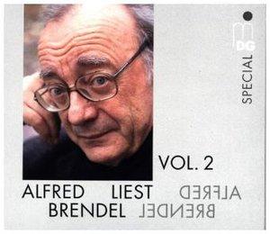 Alfred Brendel liest. Vol.2, 2 Audio-CDs