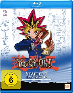 Yu-Gi-Oh!. Staffel.1.2, 1 Blu-ray