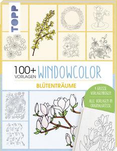 Vorlagenmappe Window Color - Blumen