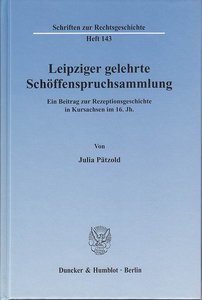 Leipziger gelehrte Schöffenspruchsammlung