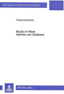 Musik im Werk Heimito von Doderers