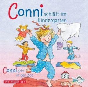 Conni schläft im Kindergarten / Conni geht in den Zoo