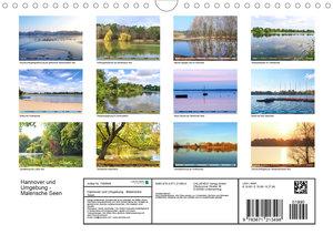 Hannover und Umgebung - Malerische Seen