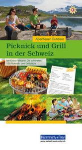 Picknick und Grill in der Schweiz
