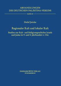Regionaler Kult und lokaler Kult
