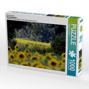 Ein Motiv aus dem Kalender Sonnenblumen 1000 Teile Puzzle quer