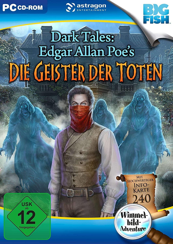Dark Tales, Edgar Allan Poe\'s Die Geister der Toten, 1 CD-ROM - zum Schließen ins Bild klicken