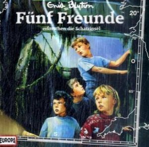 Fünf Freunde erforschen die Schatzinsel, 1 Audio-CD