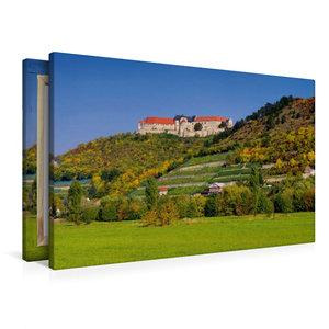 Premium Textil-Leinwand 90 cm x 60 cm quer Schloss Neuenburg