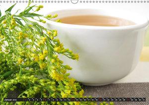 Komm Tee trinken! (Wandkalender 2019 DIN A3 quer)