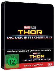 Thor: Tag der Entscheidung 3D+2D Steelbook