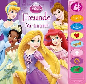 8-Button-Soundbuch Disney Prinzessin Freunde für immer