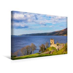 Premium Textil-Leinwand 45 cm x 30 cm quer Urquhart Castle